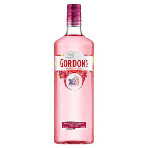 Džins Gordon's Pink 37,5% 0,7l