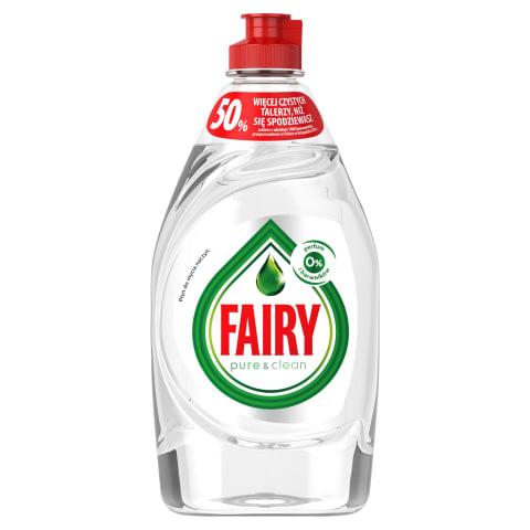 Trauku mazg. līdzeklis Fairy Pure&Clean 450ml