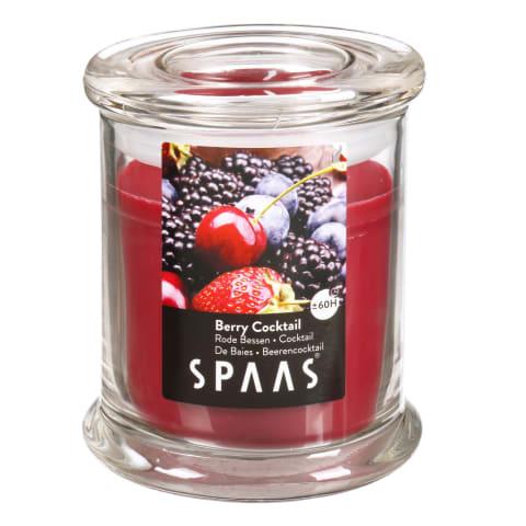 Lõhnaküünal klaasis Spaas marja kokt.L