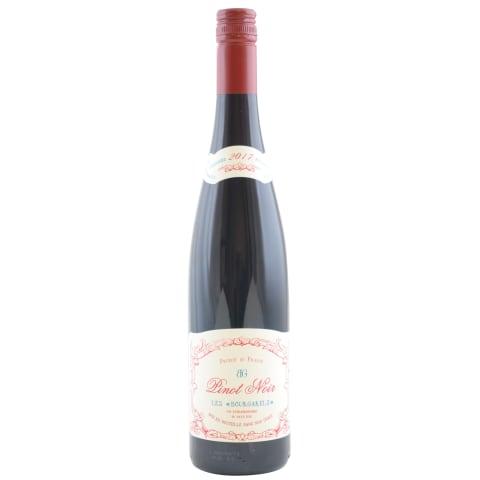 R.saus.vynas LES BOURGARELS PINOT NOIR, 0,75l