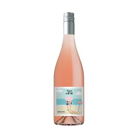 Rausvasis sausas vynas D'ETE ROSE, 0,75l