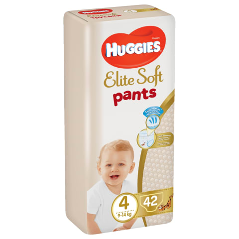 Autiņb. Huggies Elite Soft 9-14kg 42gb