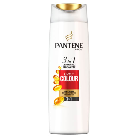 Šampūns Pantene Lively Color 3in1 360ml