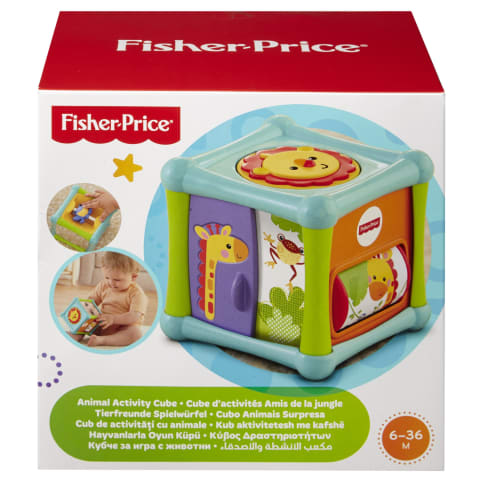 Rotaļlieta aktīvais kubs Fisher Price