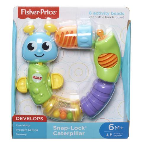 Rotaļlieta jautrais kāpurs Fisher Price