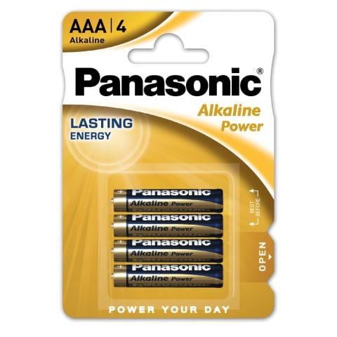 Panasonic baterijos LR03APB/4B
