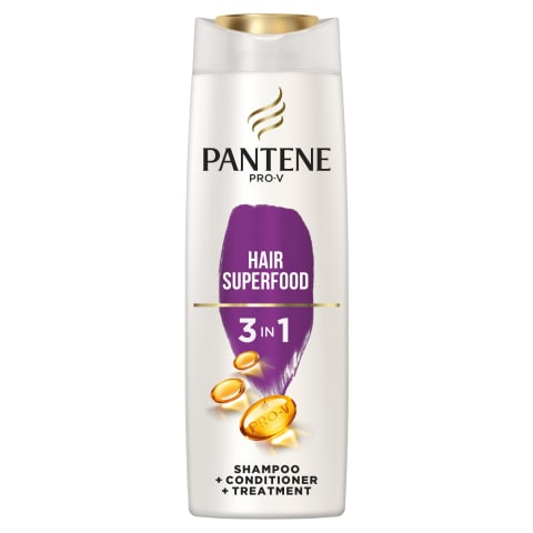 Šampūns Pantene Superfood 3in1 360ml