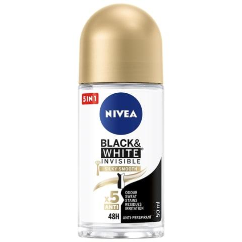 Dezodorants Nivea Black&White rullveida 50ml