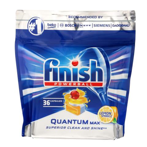 Trauku maš. tabl. Finish Quantum Lemon 36gab.