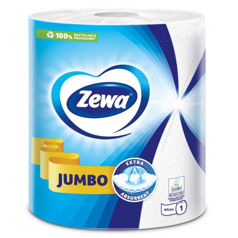 Popieriniai rankšluosčiai ZEWA JUMBO, 1rul.