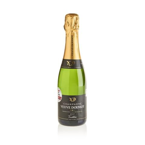 Šampanas VEUVE DOUSSOT BRUT, 0,375l