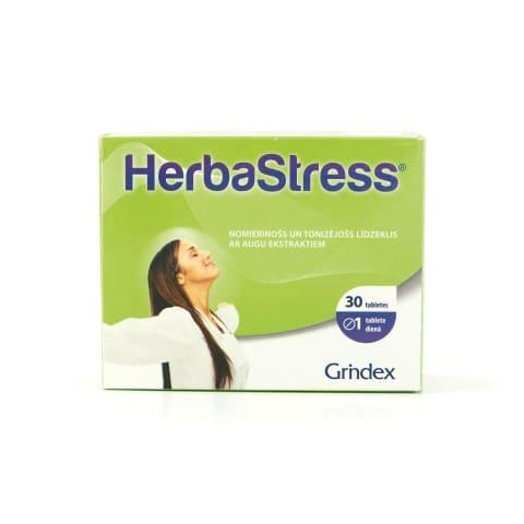 Tabletes Herbastress 450mg, 30 gab.