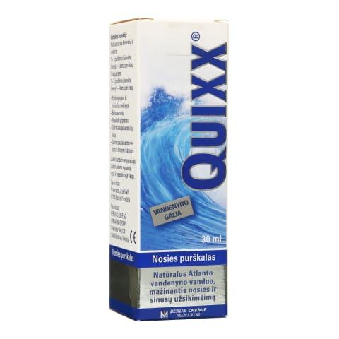 Nosies purškalas QUIXX, 30 ml