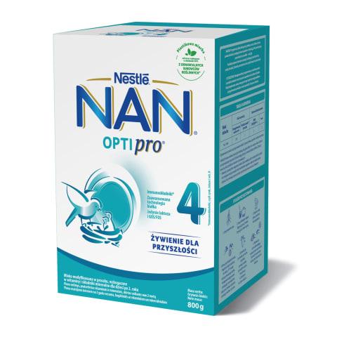 Pieno mišinys NAN OPTIPRO 4, nuo 2 metų, 800g
