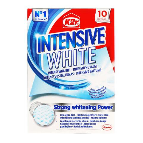 Krāsu ķērājs K2r Intensive White 10gab.