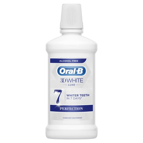 Rince aid ORAL-B 3D White Luxe, 500 ml