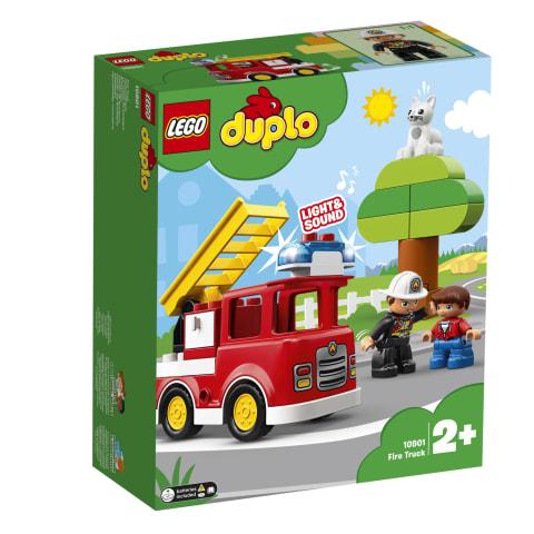 Rotaļlieta ugunsdzēsēju automašīna