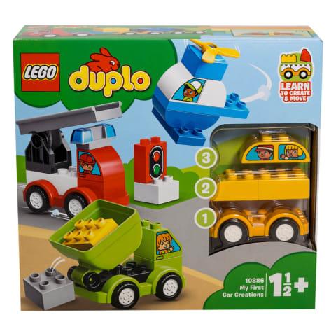 Mängukomplekt Lego Duplo esimesed autod