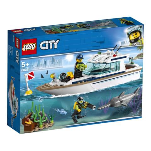 Konstruktors niršanas jahta LEGO City