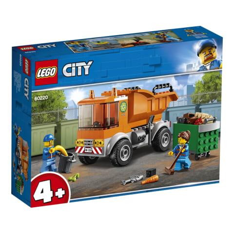 Konstr atkritumu izvešana auto LEGO City