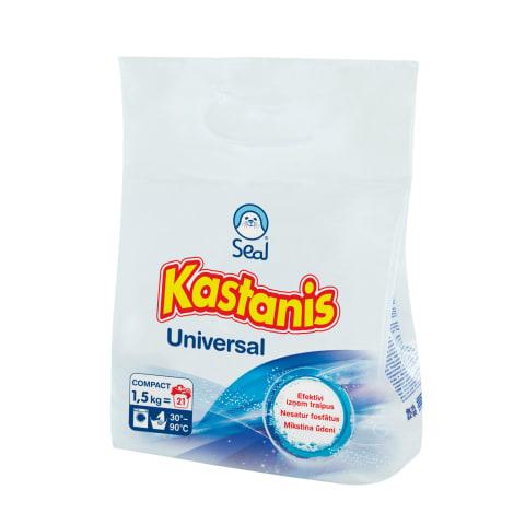 Veļas pulveris Kastanis Universal 1,5kg