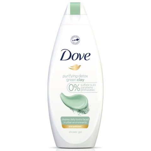 Dušas želeja Dove Green Clay 250ml