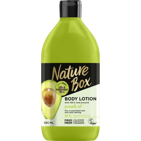 Ķermeņa losjons Nature Box Avocado 385ml