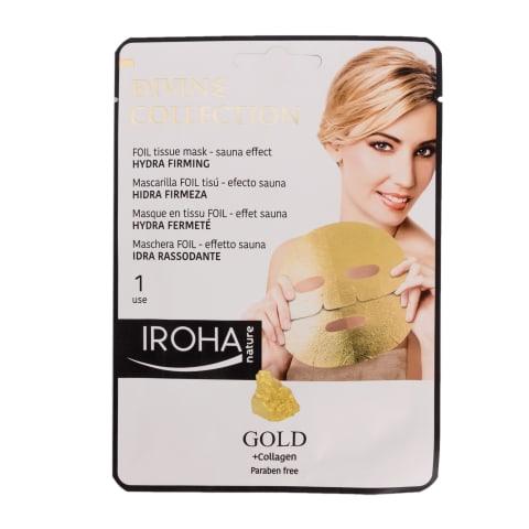 Sejas maska Iroha Detox Gold no follija 1 gb.