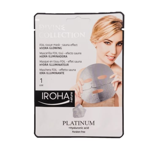Sejas maska Iroha Detox Platinum 1 gab.