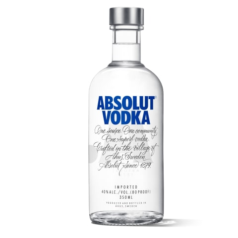 Degvīns Absolut Vodka 40% 0,35l