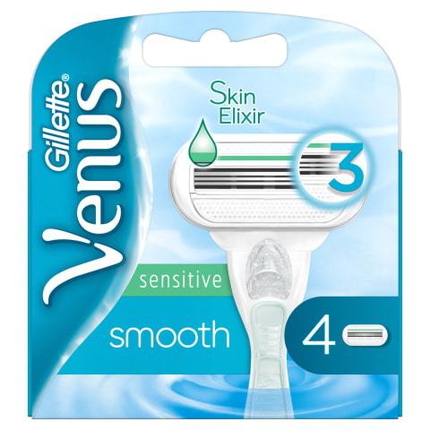 Skūšanās kasetes Gillette Venus Sens. 4 gab.
