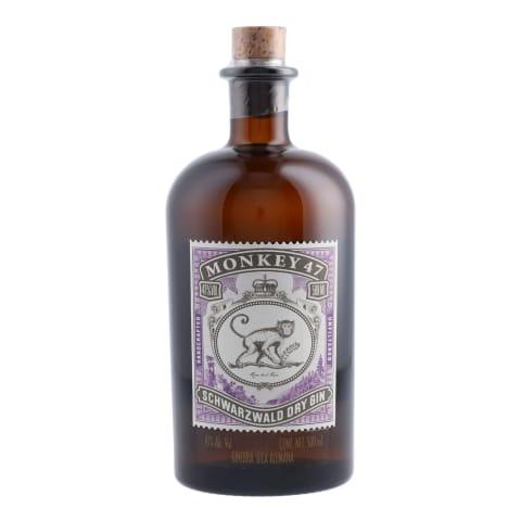Džins Monkey 47 Dry Gin 47% 0,5l