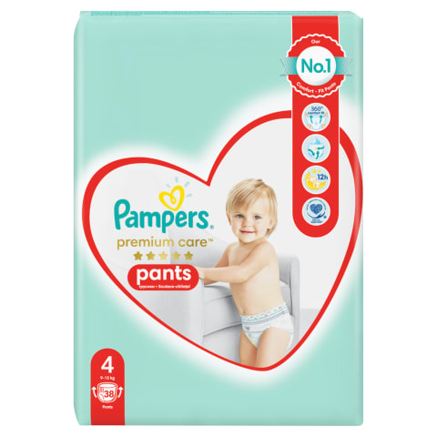 Autiņbiksītes Pampers Premium Pants S4 38gb