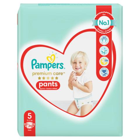 Autiņbiksītes Pampers Premium Pants S5 34gb