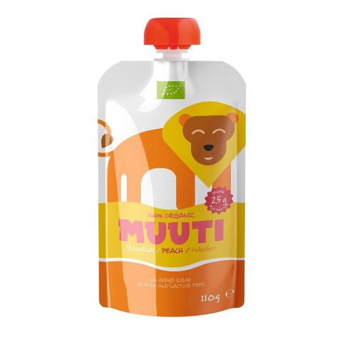 Püree banaani/virskiu/mango Muuti 110 g