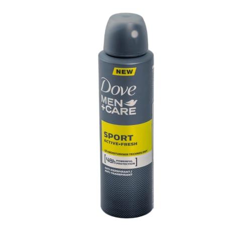Dezodorants Dove Men Sport, izsmidzin. 150ml