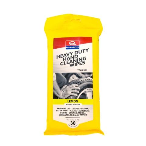 Drėgnos servetėlės rankų valymui HEAVY DUTY