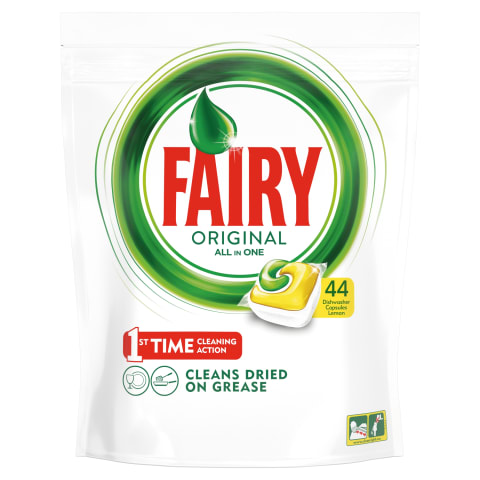 Trauku mazg.maš.kaps.Fairy All in1 lemon 44gb