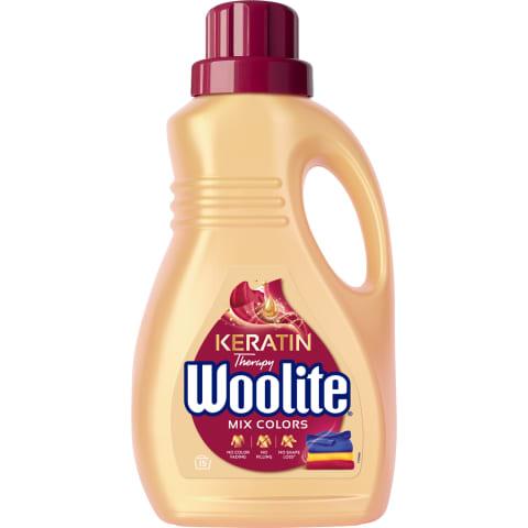 Veļas mazgāšanas līdzeklis Woolite Color 0,9L