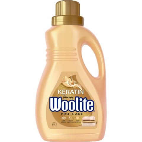 Veļas mazg. līdzeklis Woolite Pro-Care 0,9L