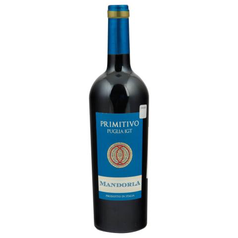 S.v. Mandorla Primitivo Puglia 13,5% 0,75l