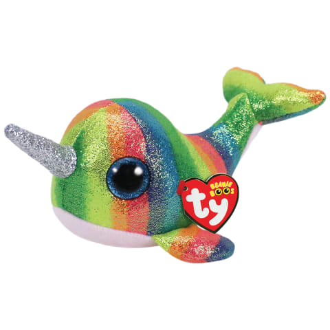 Rotaļlieta NORI - nārvalis, 15cm
