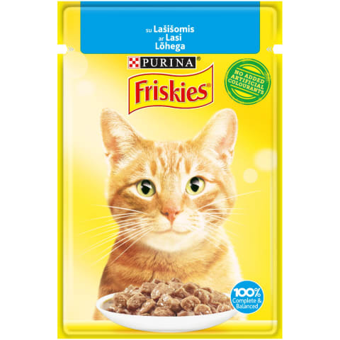 Kaķu konservi Friskies ar lasi 85g