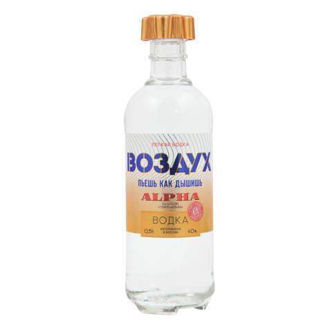 Degvīns Ljogkaja Vodka Vozduh Alpha 40% 0,5l