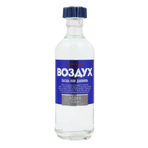 Degvīns Ljogkaja Vodka Vozduh 40% 0,5l