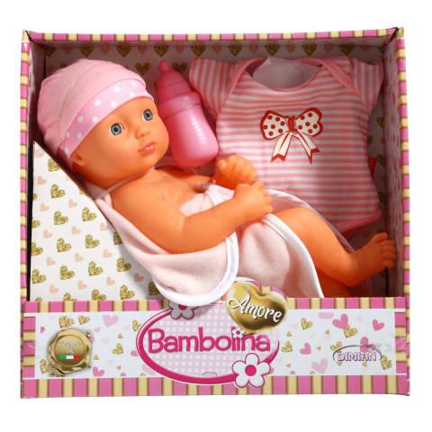 Lėlė-naujagimis BAMBOLINA AMORE, 34cm