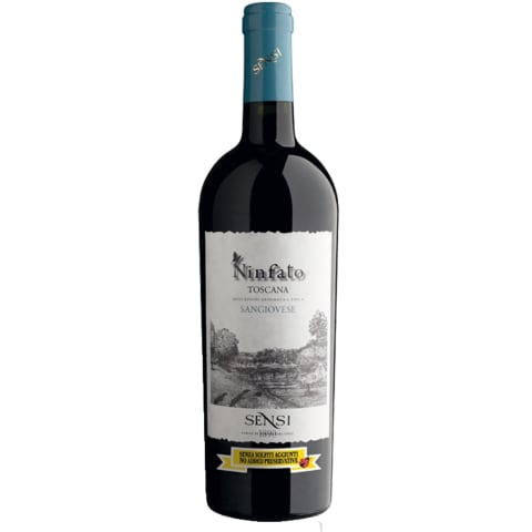 Raud.saus.vyn.SENSI NINFATO SANGIOVESE, 0,75l