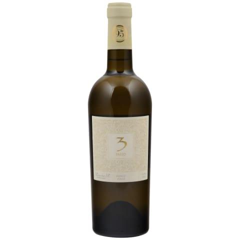 Ekologišk. baltasis sausas vyn. 3 PASSO,0,75l
