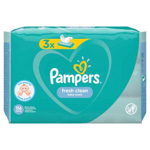 M.salvetes Pampers Fresh Clean, 3x52 pcs