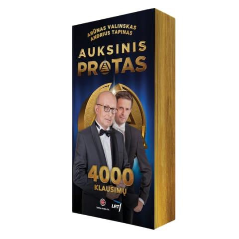 Knyga AUKSINIS PROTAS. 4000 KLAUSIMŲ